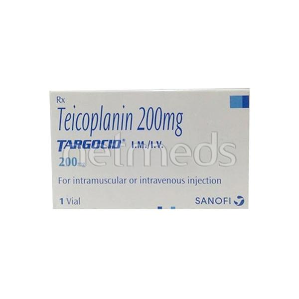 Targocid 200mg Injection 1's