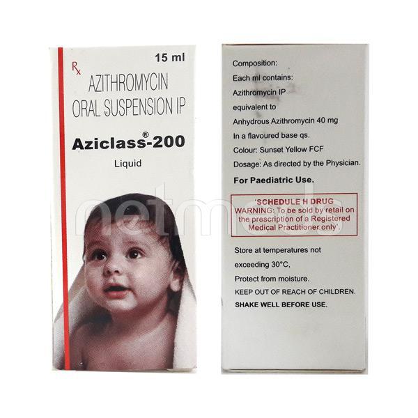 Aziclass 200mg Liquid 15ml
