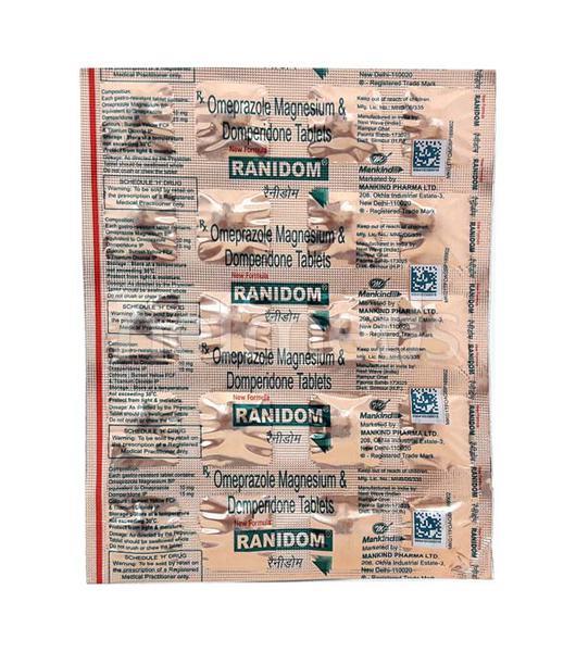 Ranidom Tablet 20'S