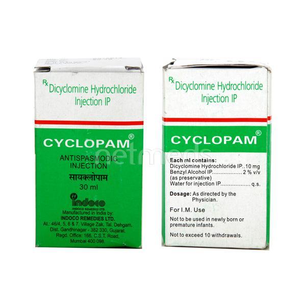 Cyclopam Injection 30ml