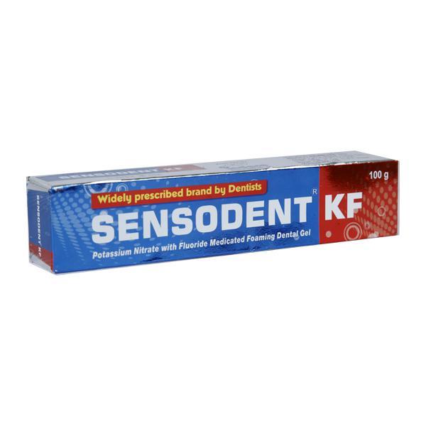 Sensodent KF Foaming Dental Gel 100gm