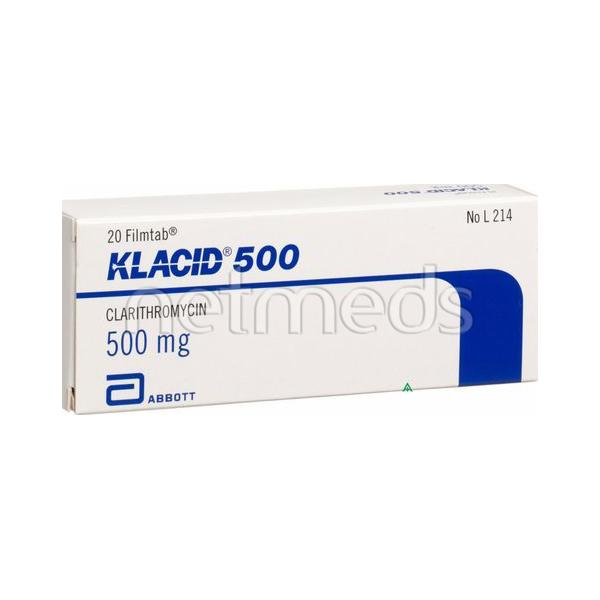 Klacid 500mg Injection
