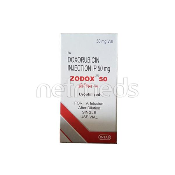Zodox 50mg Injection 1's