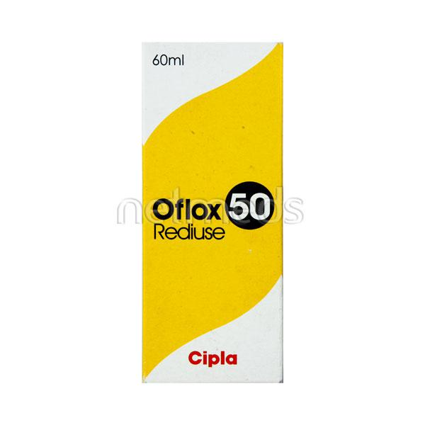 Oflox 50mg Rediuse Suspension 60ml