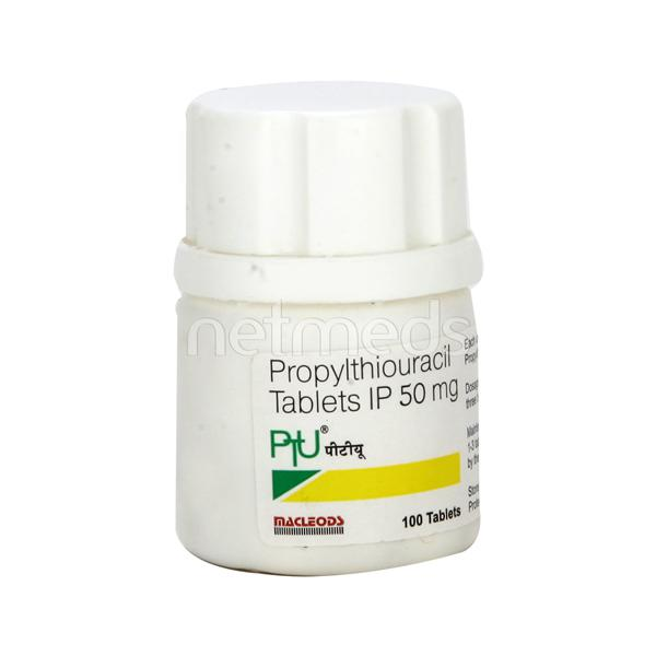 PTU 50mg Tablet 100'S