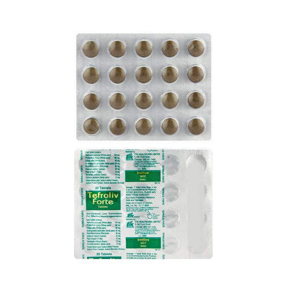 Tefroliv Forte Tablet 20'S