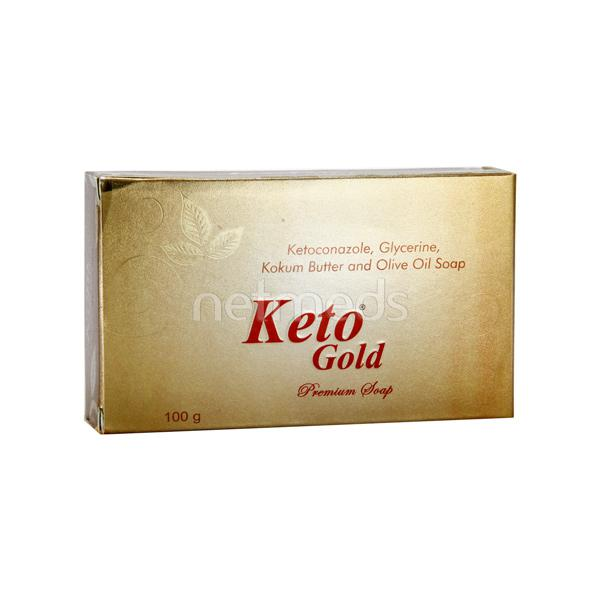 Keto Gold Premium Soap 100gm