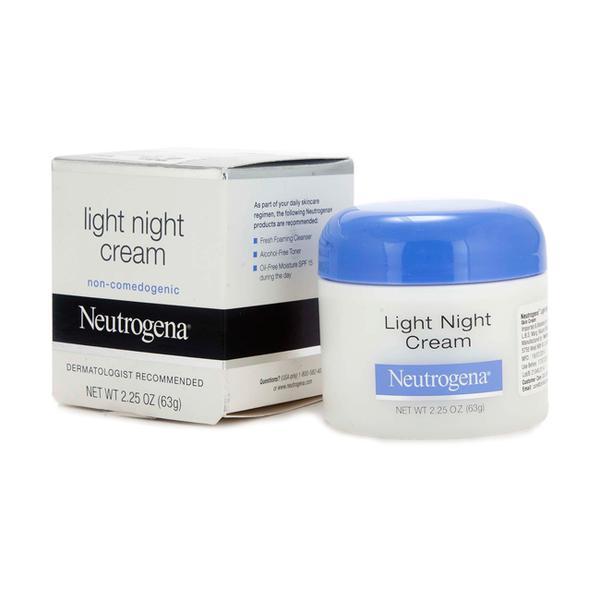 NEUTROGENA LIGHT NIGHT CREAM 63GM