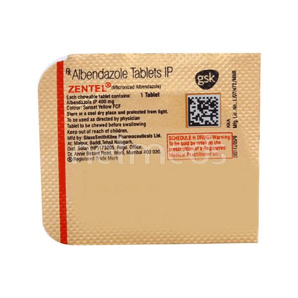 Zentel Tablet 1'S
