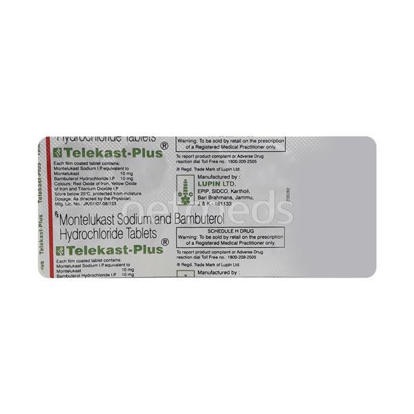 Telekast Plus Tablet 10'S