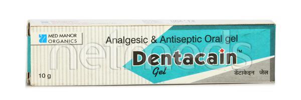 Dentacain Gel 10gm