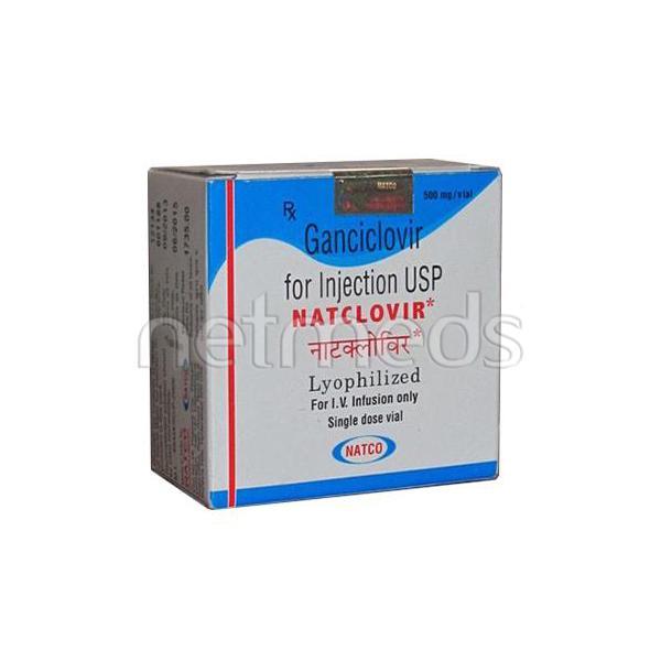 Natclovir 500mg Injection 1's