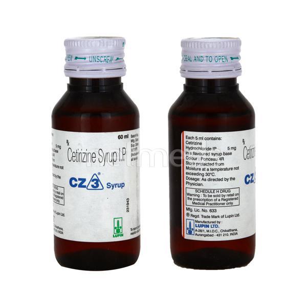 CZ 3 Syrup 60ml