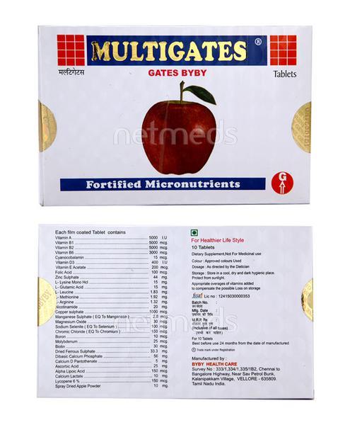 Multigates Tablet 10'S