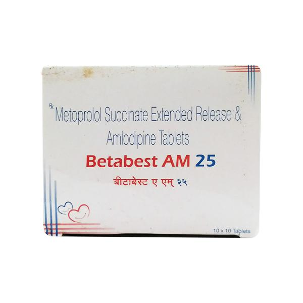Betabest AM 25mg Tablet 10'S