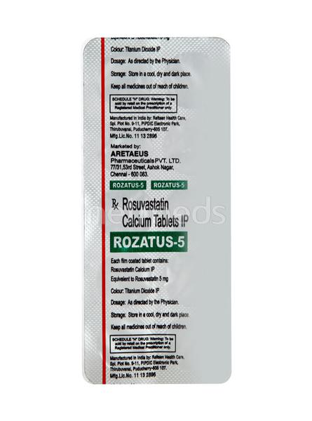 Rozatus 5mg Tablet 10'S