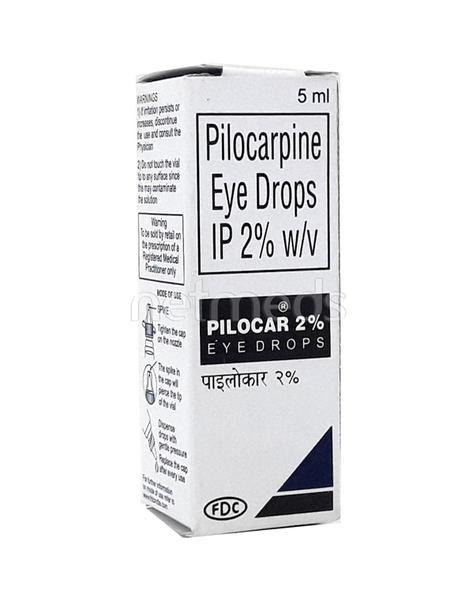 Pilocar 2% Drops 5ml