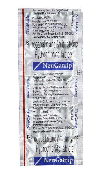 Neugatrip Tablet 10'S