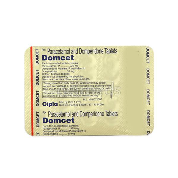 Domcet Tablet 10'S