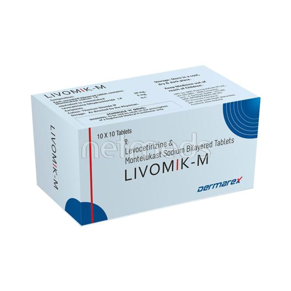 Livomik M Tablet 10'S