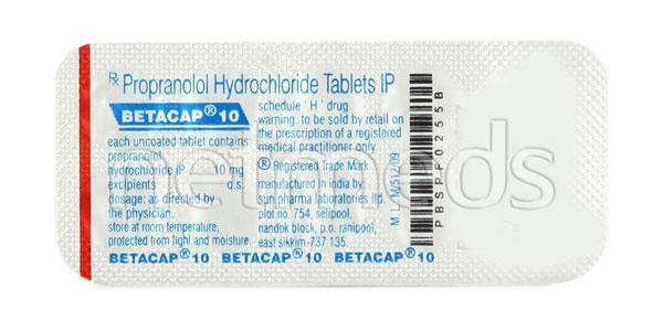Betacap 10mg Tablet 10'S