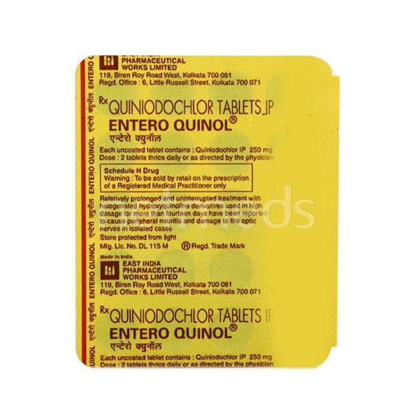 Enteroquinol Tablet 20'S