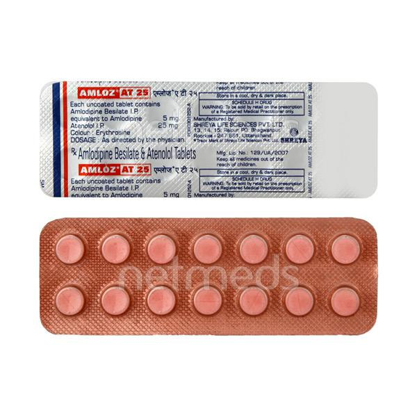 Amloz AT 25mg Tablet 14'S