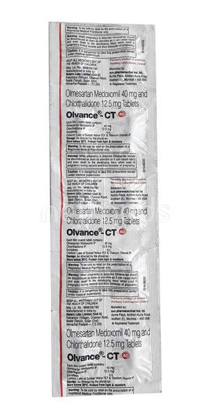 Olvance CT 40mg Tablet 10'S