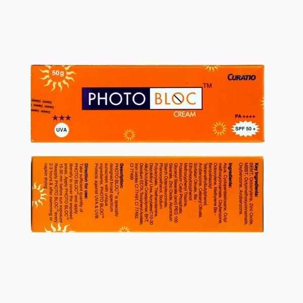 Photobloc SPF 50+ PA++++Cream 50gm