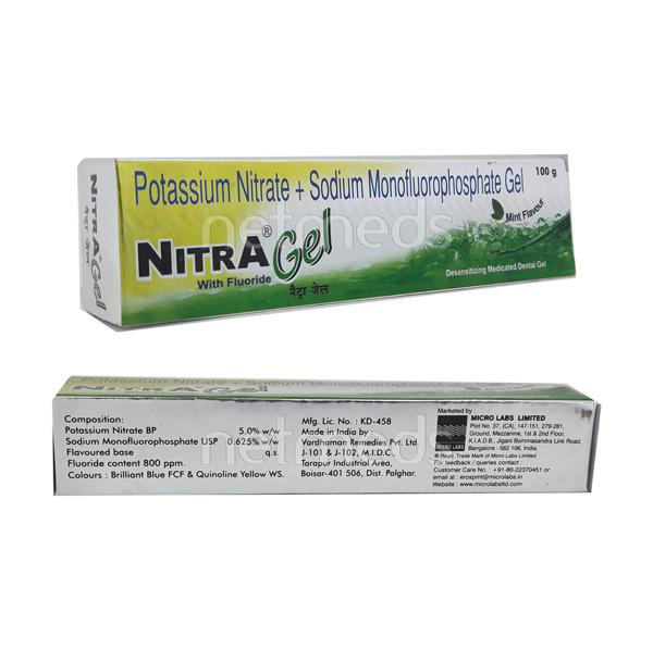 Nitra Mint Flavour Gel 100gm