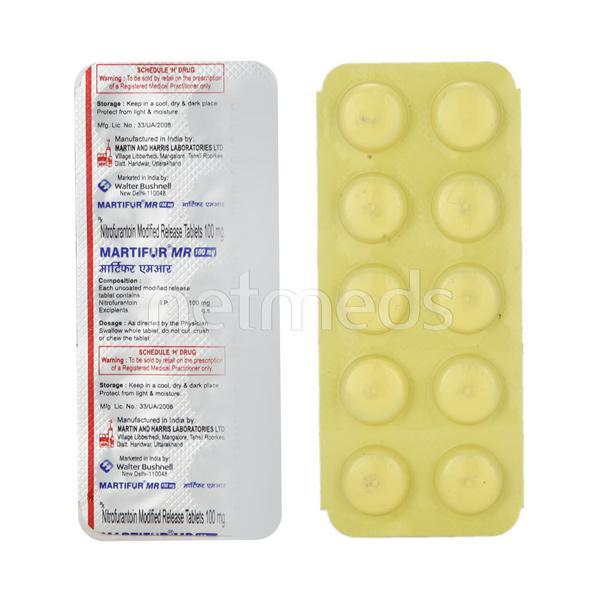 Martifur MR 100mg Tablet 10'S
