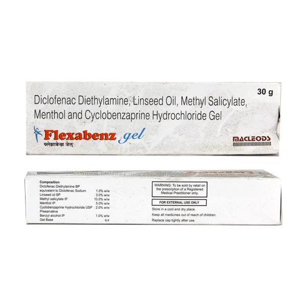 Flexabenz Gel 30gm - Buy Medicines online at Best Price from Netmeds.com