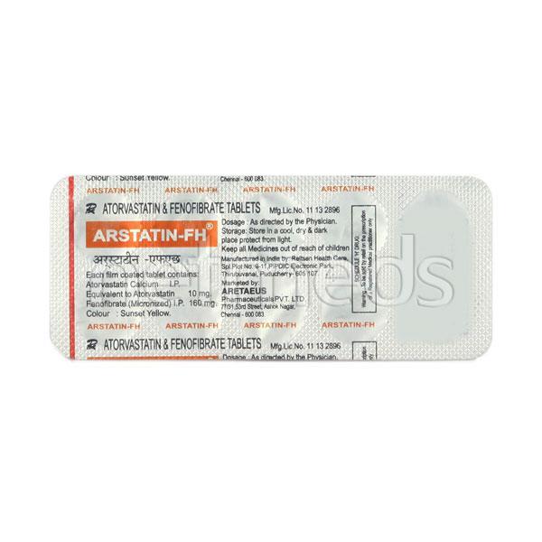 Arstatin FH Tablet 10'S