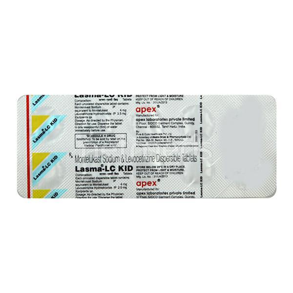 Lasma LC Kid Tablet 10'S