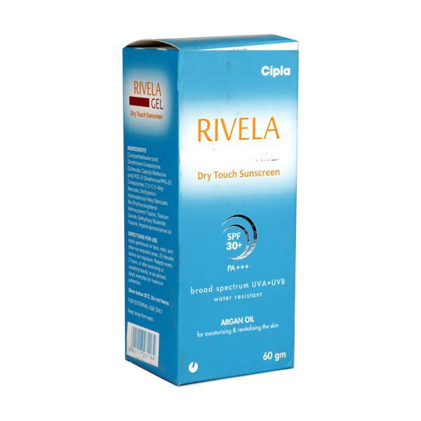 Rivela SPF 30+ PA+++ Sunscreen Gel 60gm
