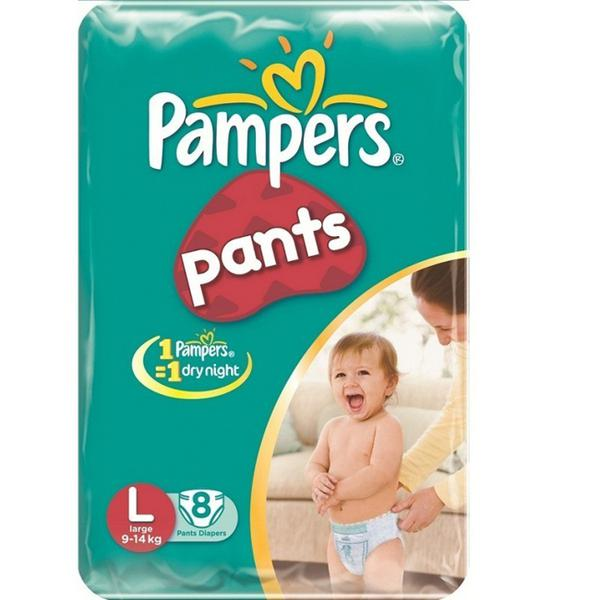 Pampers Pants (L) 8's