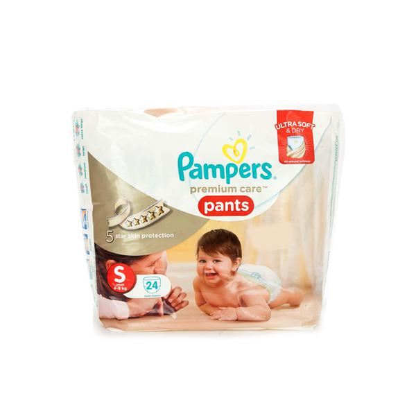 Pampers Premium Care Pants (S) 24's