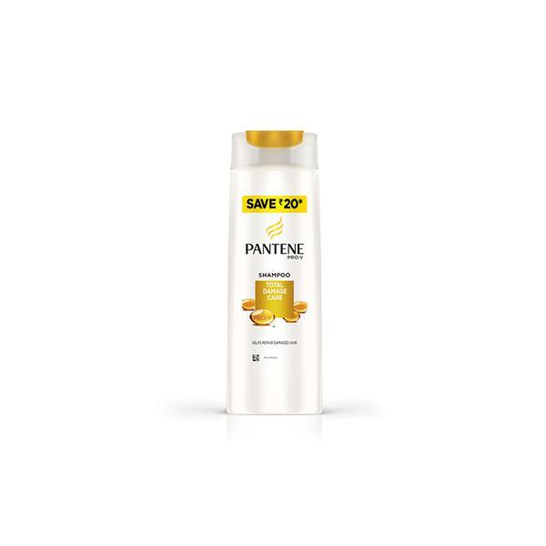 Pantene Pro-V Advanced Hair Fall Solution+ Shampoo - Total Damage Care 180 ml