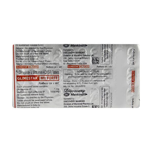 Glimestar M1 Forte Tablet 30'S