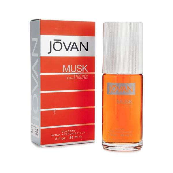 Jovan Eau De Toilette Cologne Musk for Men 88 ml