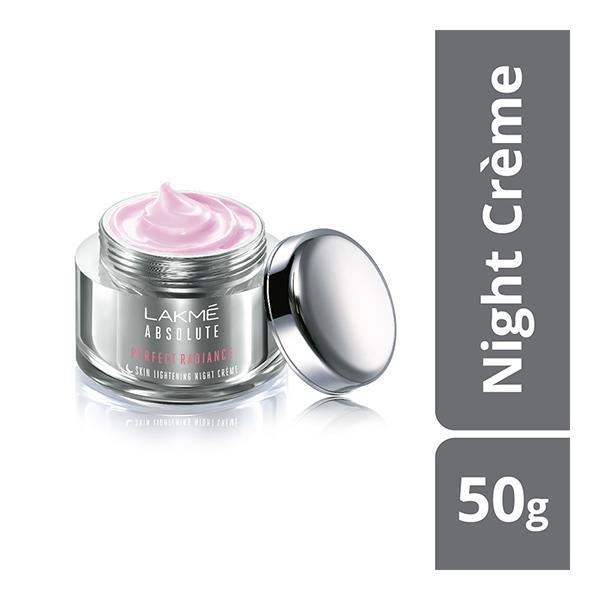 Lakme Absolute Perfect Radiance Skin Lightening/Brightening Night Creme 50 gm