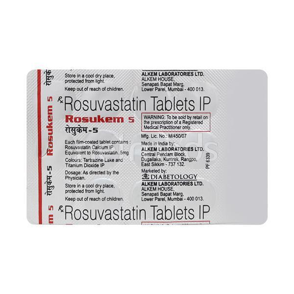 Rosukem 5mg Tablet 15'S
