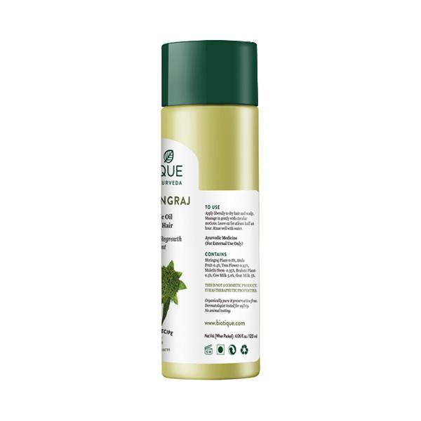 Biotique Bio Bhringraj Therapeutic Oil for Falling Hair 120 ml