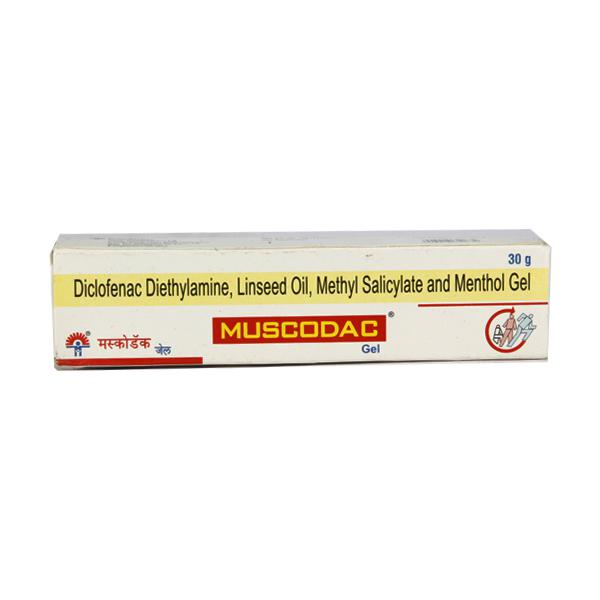 Muscodac Gel 30gm - Buy Medicines online at Best Price from Netmeds.com
