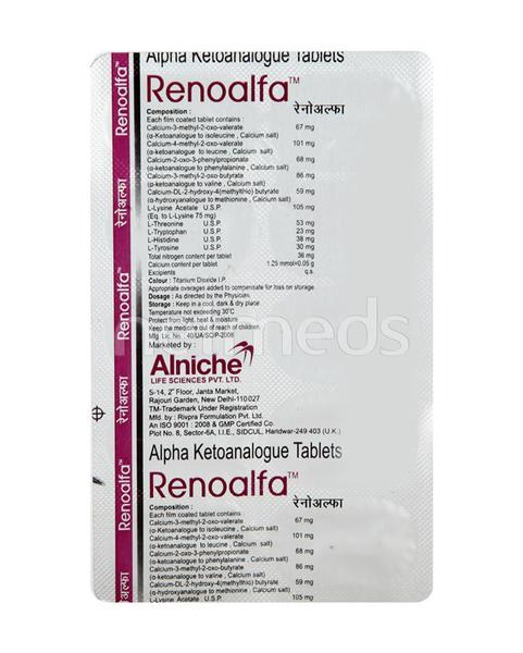 Renoalfa Tablet 10'S