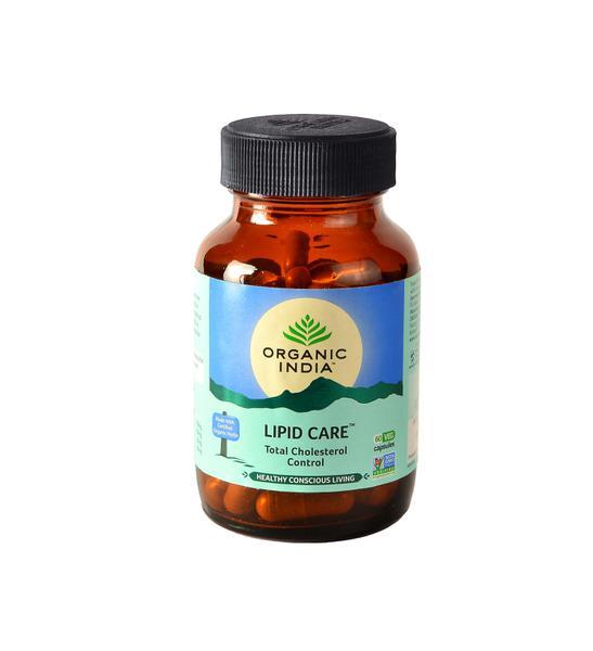 Organic India Lipid Care Veg Capsules 60's