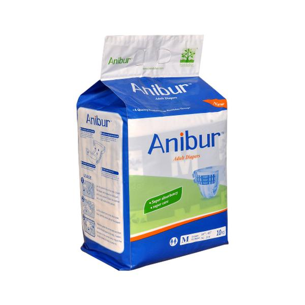 Anibur Adult Diapers 10's (M)