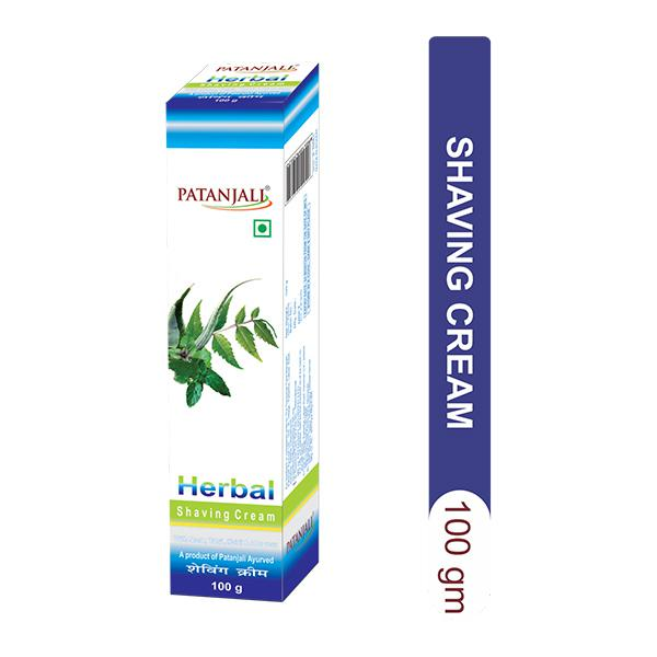 Patanjali Herbal Shaving Cream 100 gm