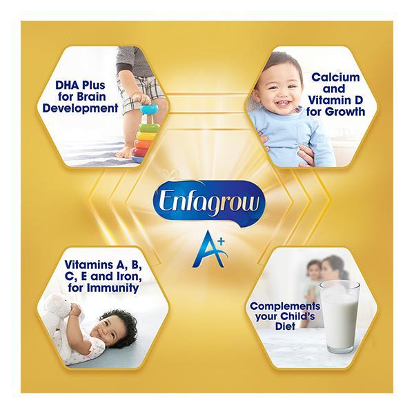 Enfagrow Nutritional Milk Powder A+ Stage 4 (2+ Years) - Chocolate Flavour 400 gm (Tin)