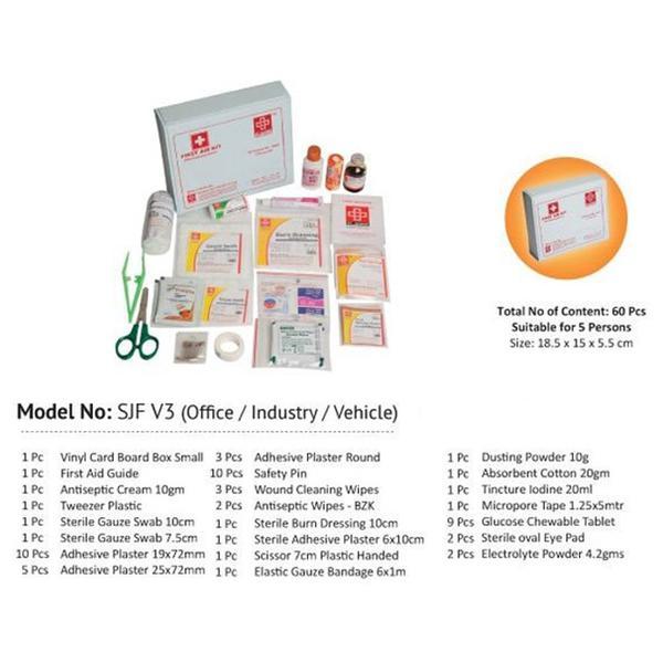 St.Johns Multi Purpose Kit In Vinyl Box (SJF V3)